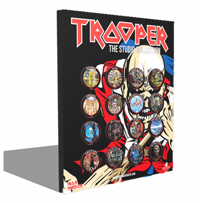 Iron Maiden Trooper The Studio Collection